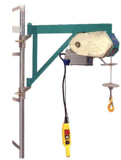 Schema Elettrico Per Montacarichi : Le attrezzature per il sollevamento dei carichi elevatore a bandiera